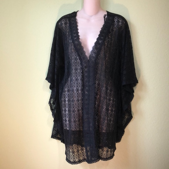 309e292a24 Catalina Other - NWOT Catalina black lace swimsuit cover-up 1X